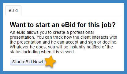 eBid start now