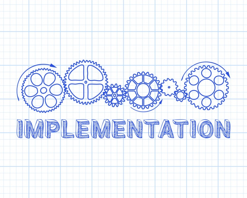 Implement changes to the process