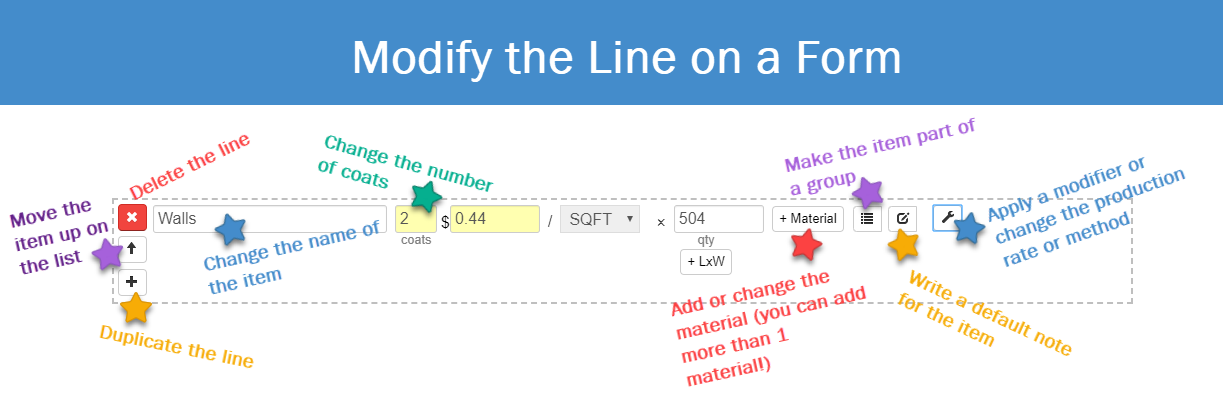 Modify the Line on a Form